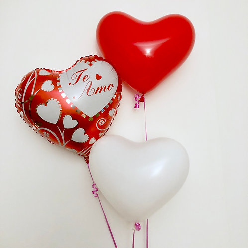 Printed foil balloon bouquet