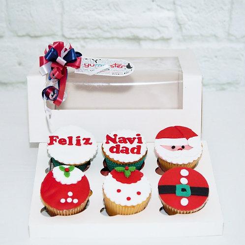 Feliz Navidad Cupcakes