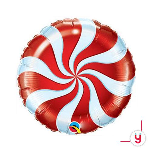 Orange Spiral balloon