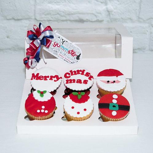 Merry Xmas Cupcakes