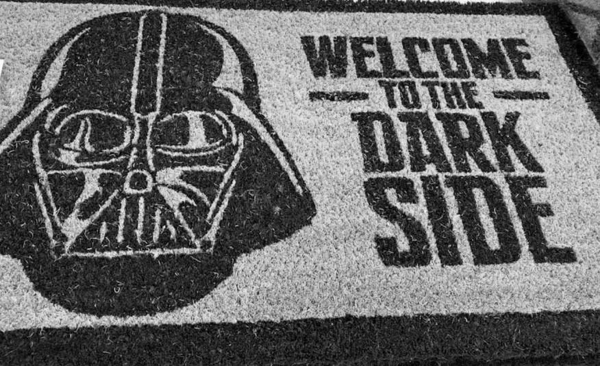 Dark Side Mat