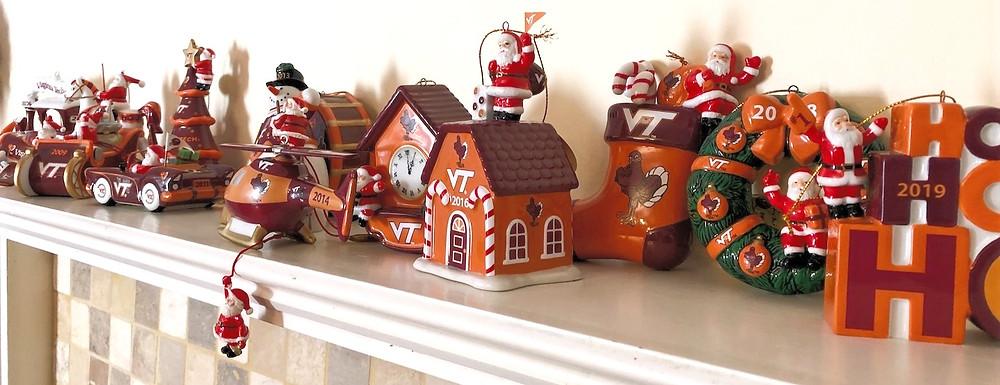 Virginia Tech Ornaments