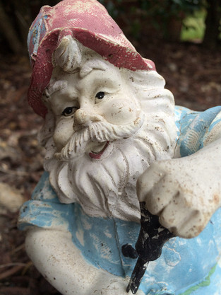 A Laundry Gnome Mystery