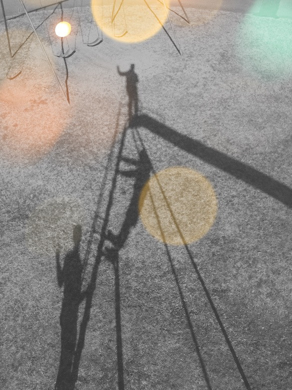 Shadows on Playground