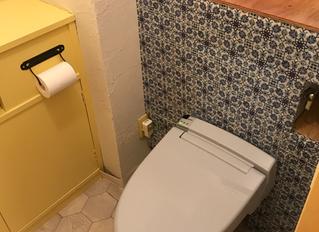 トイレをセルフリノベーション