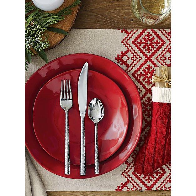 Menaje color rojo para navidad