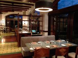 Salón de restaurante