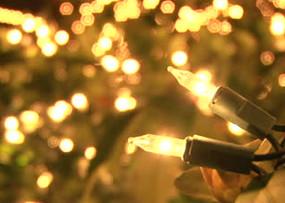 13 tips para decorar con la luz en Navidad