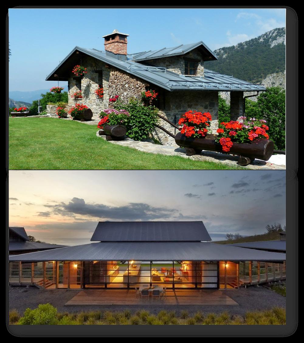 Casa de playa - Casa de Montaña