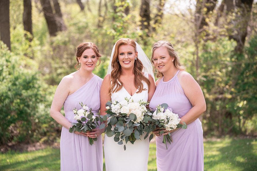 Bridal/Bridesmaid Hair + Makeup by Kathryn