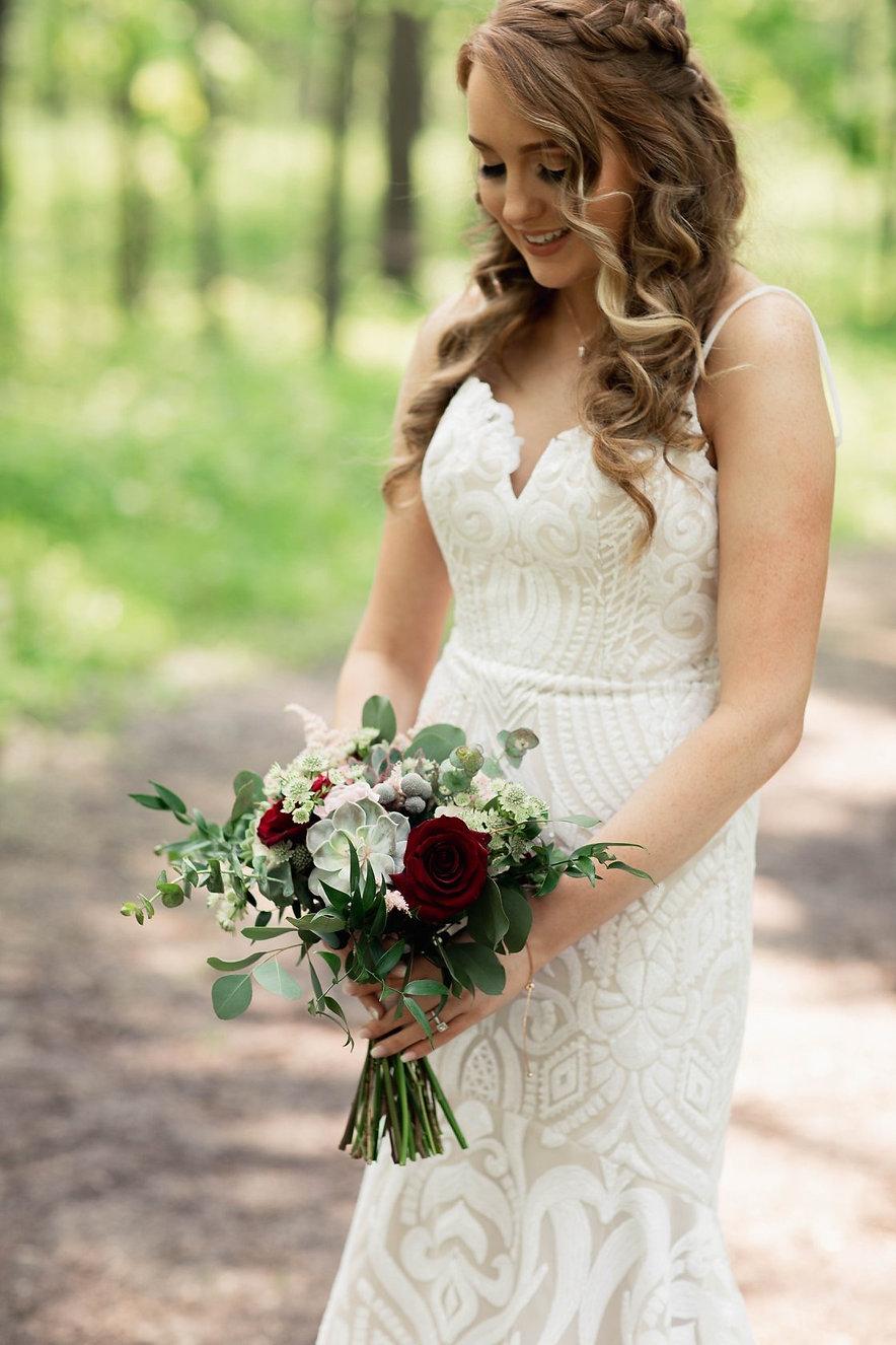 Bridal Hair by Kathryn
