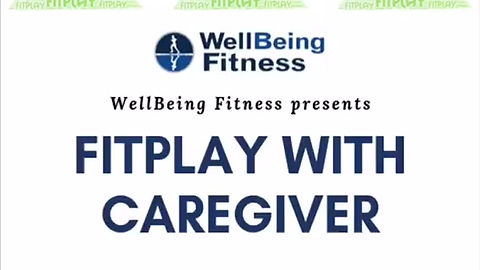 A glimpse at a FitPlay with Caregiver class where the caregiver gets a small group training in our training room and the children get a fun fitness class in our group fitness room.