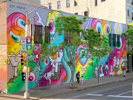 Giant NYC Pride Mural