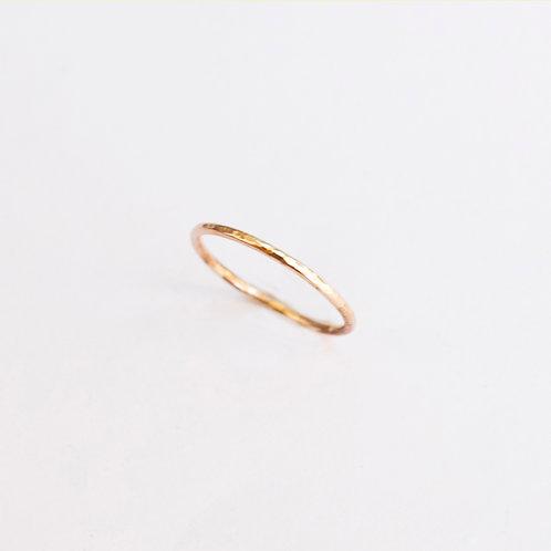 14k Gold-Filled Hammered Ring
