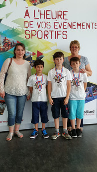 Podium Championnat de France 10M