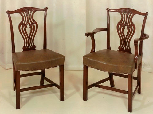 Chippendale Style Dining Chair set of 10