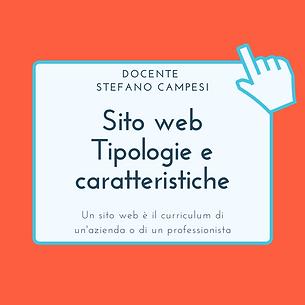Sito web. Tipologie e caratteristiche.pn