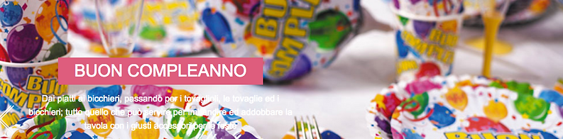 Coordinati personalizzati per feste di compleanno per bambini