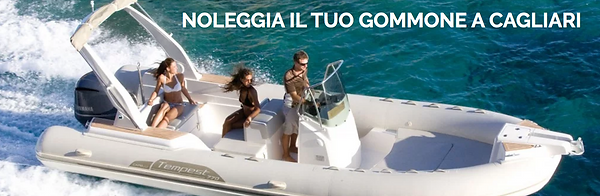 Noleggio gommone Cagliari