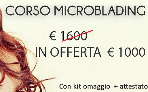 Corso microblading a domicilio