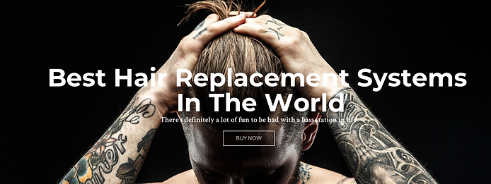 Non surgical hair replacement cost online