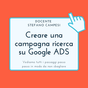 Creare campagna ricerca su Google ADS.pn