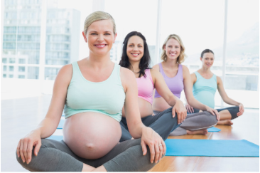 embarazadas yoga