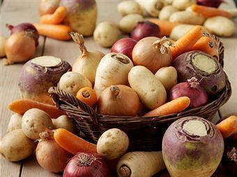 ayuno con verduras