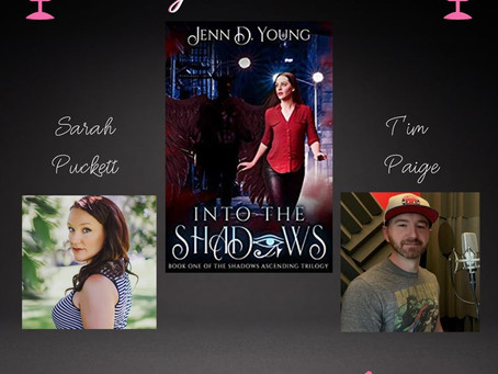 Into The Shadows is going into AUDIO!!!