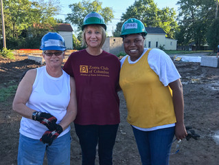 Zonta Columbus has started a new partnership with Habitat for Humanity's - Women Build