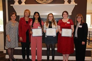 Top Central Ohio High School Senior Women Honored by Zonta