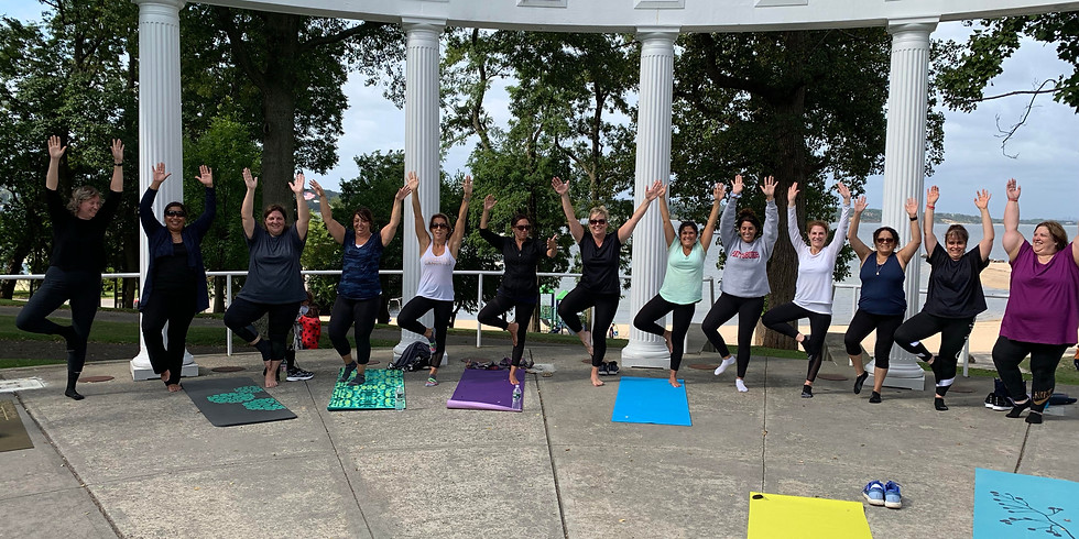 Yoga + Meditation in the Park