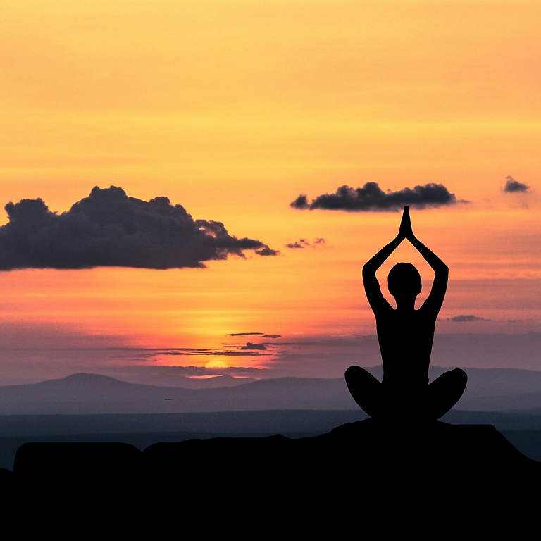 Free live stream yoga + meditation