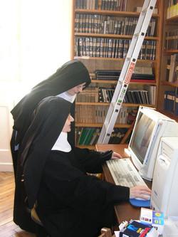 travail dans les monastères