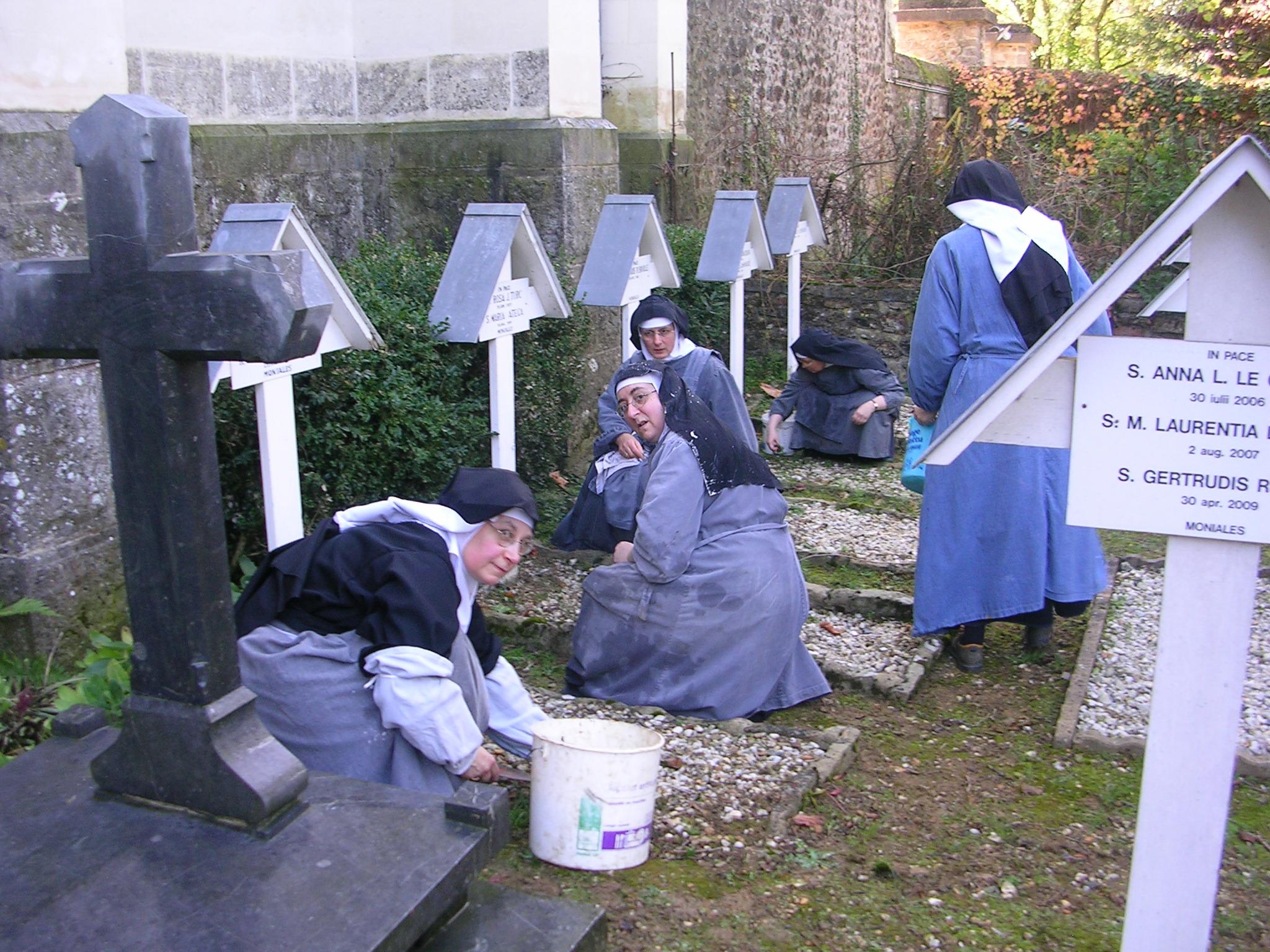travail des moines