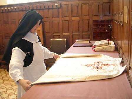 service de la liturgie