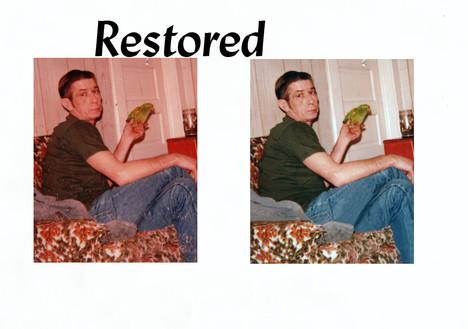 restored...