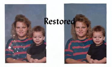 restored.