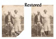 repaired & restored...