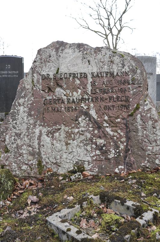 Dr. Siegfried und Gerta Kaufmann-Fleck