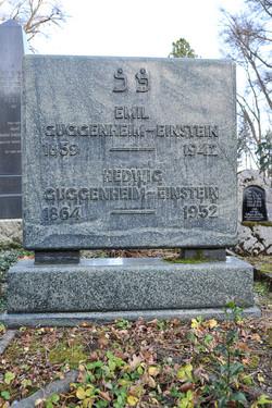 Emil und Hedwig Guggenheim-Einstein