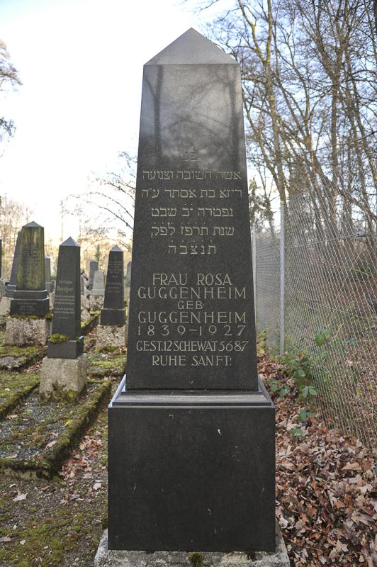 Rosa Guggenheim geb. Guggenheim