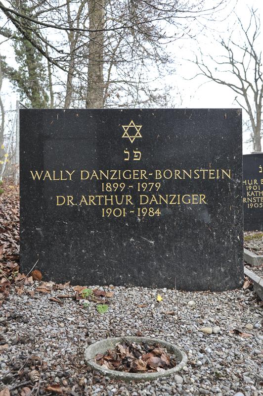 Dr. Arthur und Wally Danziger-Bornstein