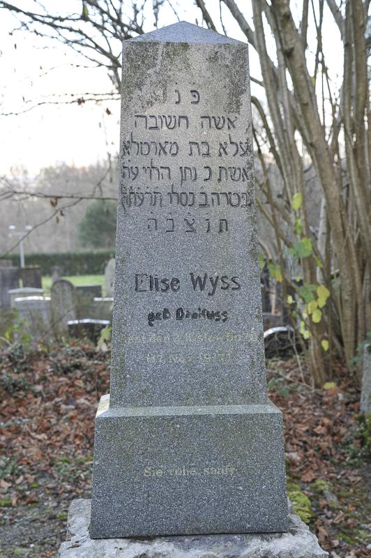 Elise Wyss geb. Dreifuss