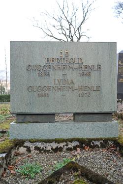 Berthold und Lyia Guggenheim-Henle