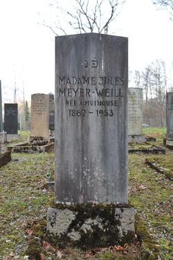 Mme Jules Meyer-Weill