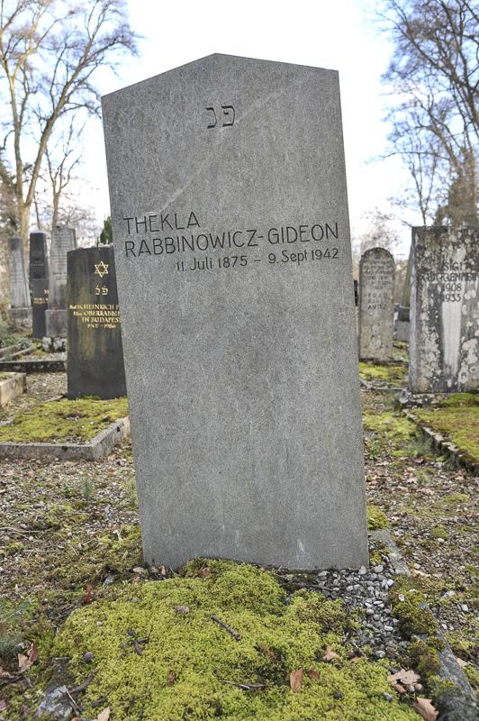 Thckla Rabbinowicz-Gideon