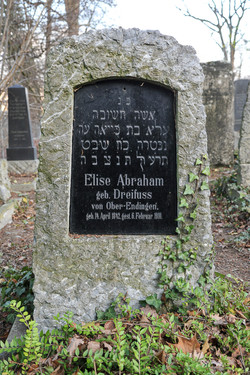 Elise Abraham geb. Dreifuss