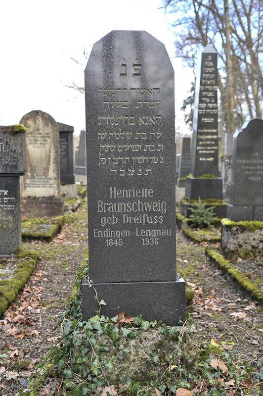 Henriette Braunschweig geb. Dreifuss