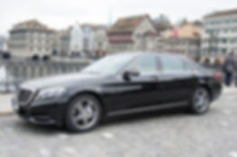 Mercedes S-Klasse mit Chauffeur
